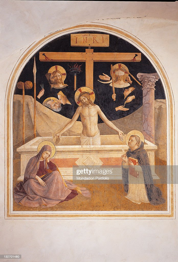 The Mourning Over The Dead Christ With The Symbols Of His Passione