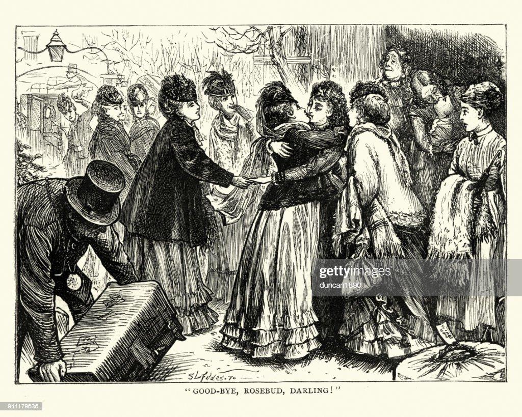 The Mystery of Edwin Drood, Good-Bye, Rosebud, Darling! : stock illustration