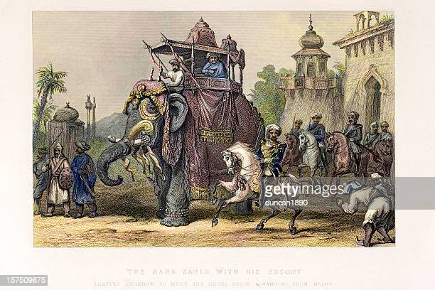 The Nana Sahib and Indian Elephant