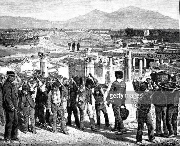 The new excavations in Pompeii