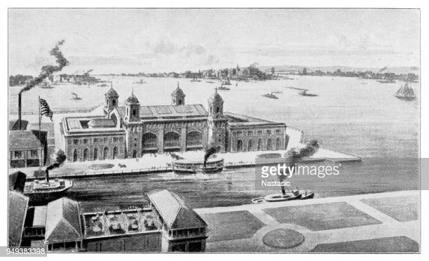 The new immigration palace in New York harbor