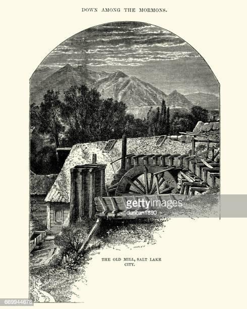 The Old Mill, Salt Lake City, 19th Century