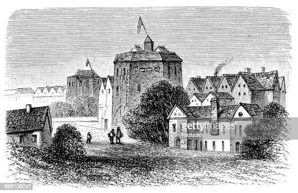 the original globe theatre - william shakespeare stock illustrations, clip art, cartoons, & icons