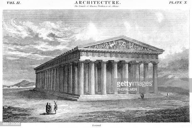 The Pantheon engraving 1878