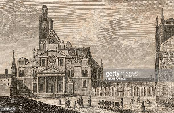 The parish church of St Etienne du Mont in Paris is regarded as a masterpiece of French Gothic architecture. Work began on the church in 1492 and was...