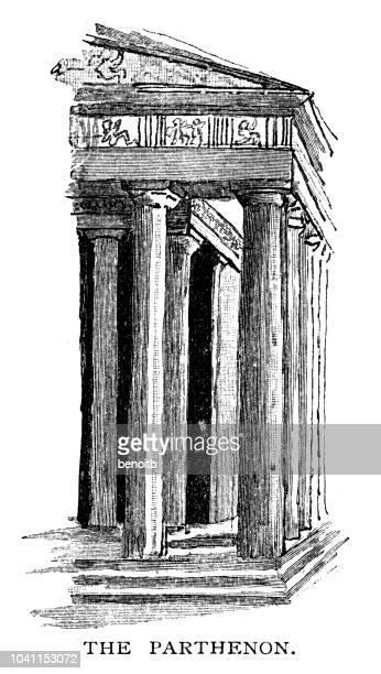 The Parthenon in Greece