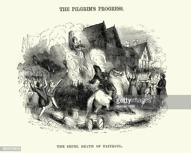 The Pilgrim's Progress -  Cruel death of Faithful