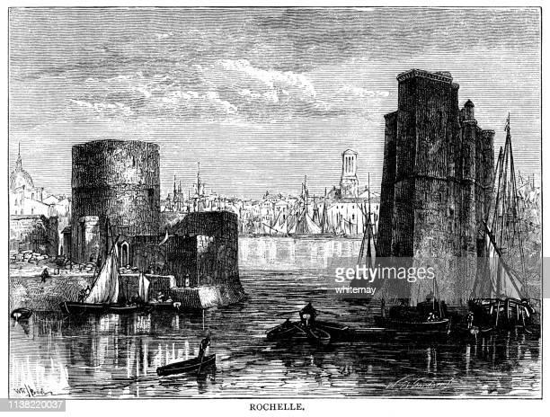 The port of La Rochelle, France