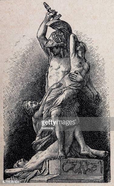 The Rape of Polyxena at the Loggia dei Lanzi
