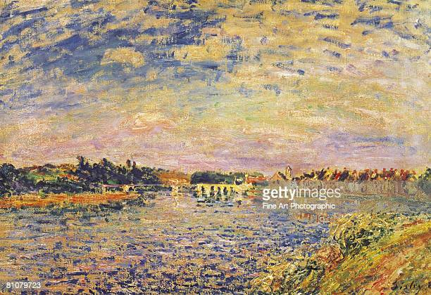 the river seine, france - france stock illustrations