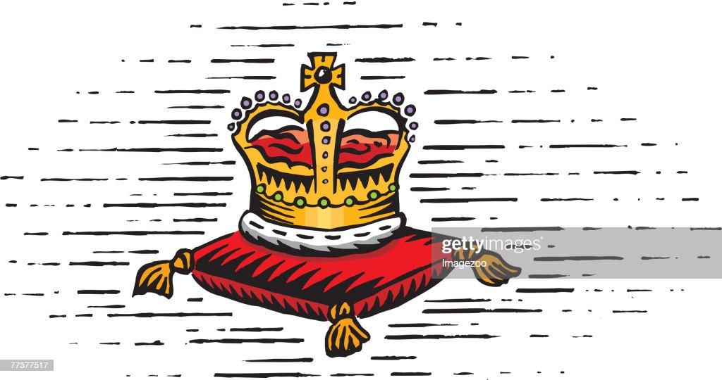 the royal crown : Illustration