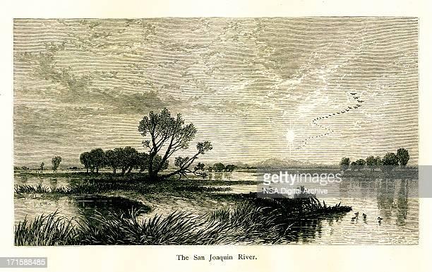 The San Joaquin River, California