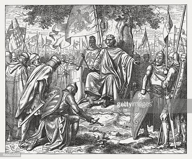 The Saxons against Henry IV, published in 1881