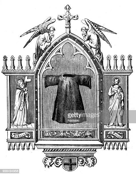 シームレスなローブのイエス ・ キリスト (として知られている聖衣、神聖なチュニック、立派なローブ、主のヒザラガイ) は中または直後彼のはりつけの前にイエス ・ キリストによって着用されていると言われてローブ
