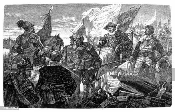 The Swedish general Lennart Torstenson has to abandon his projected attack on Vienna because of a threat from the north ,September 1643