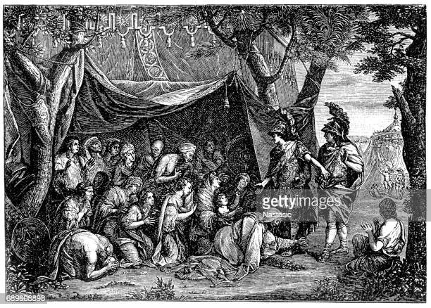 The Tent of Darius by Charles Le Brun