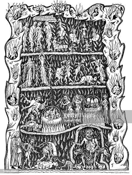 the torments of hell - teasing stock illustrations, clip art, cartoons, & icons