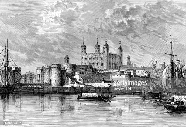 The Tower Of London In 1690.