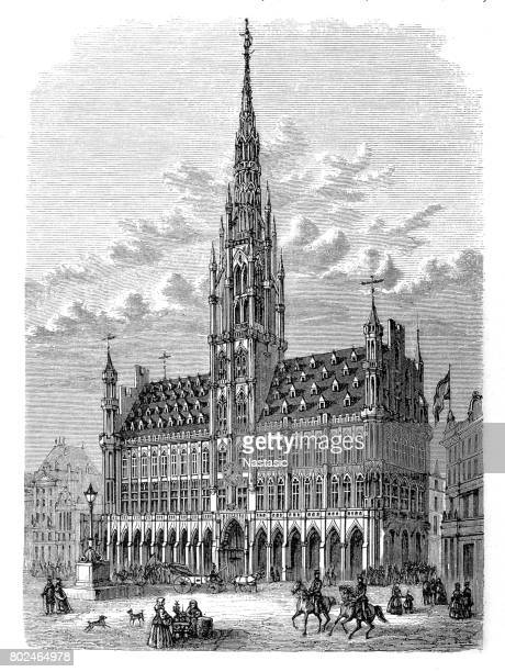 The Town Hall in Brussels