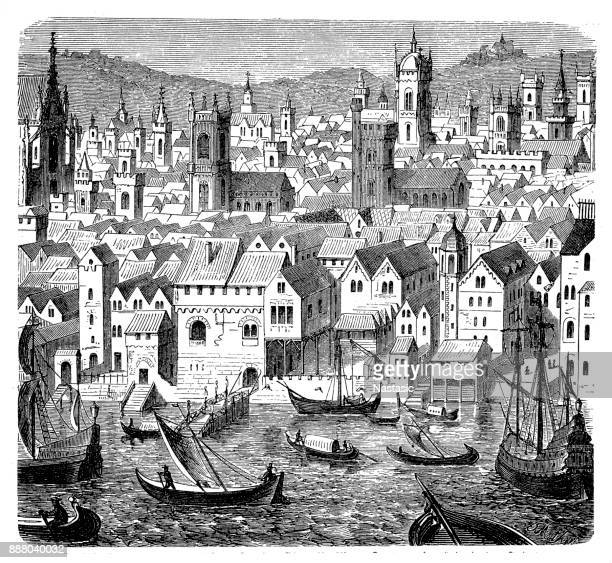 The Trading Depot of the Hanseatic Merchants - An Economic Alliance of Trading Cities in the 16th Century, The Steelyard, London England