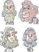 The Twelve Apostles of Jesus -  Bartholomew, Simon, LittleJames, Thaddeus