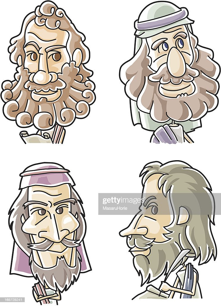 The Twelve Apostles of Jesus - Peter, Andrew, James, John