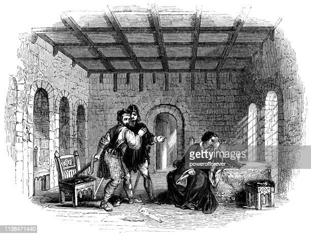 The Two Murderers at the Tower of London - Works of William Shakespeare