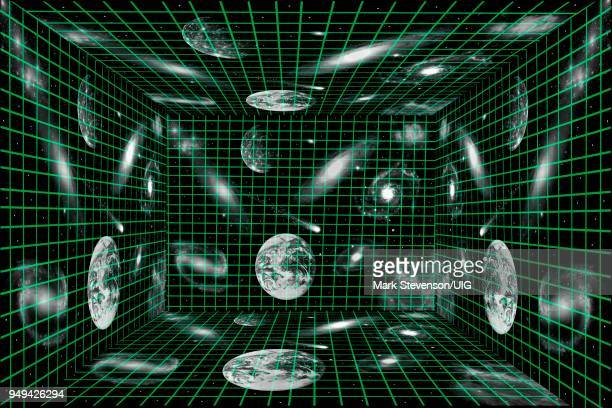 The Universe is a Holographic Matrix.