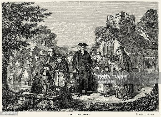 The Village Pastor, 18th Century