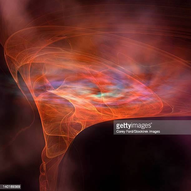 the vortex field of a black hole. - signal flare stock illustrations, clip art, cartoons, & icons