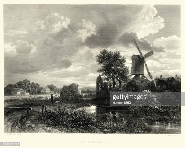 The Windmill, after Jacob van Ruisdael, 17th Century