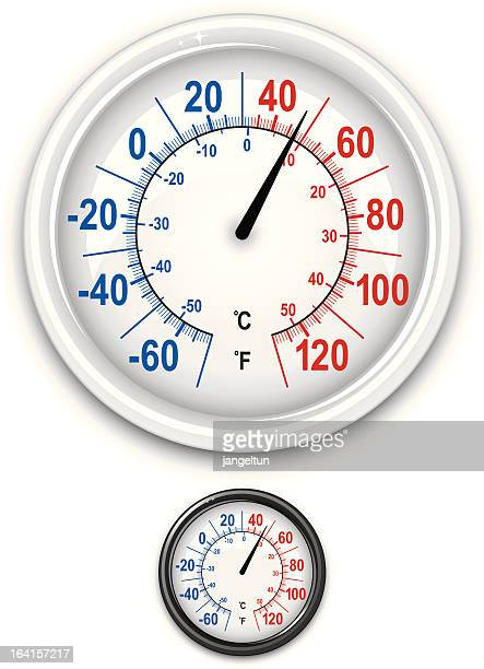 thermometer - gauge stock illustrations