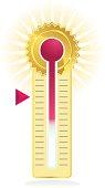 Thermometer Sunburst