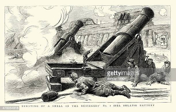 Howitzer Stock Illustrations Getty Images