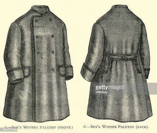 Boys winter topcoat paletot in The Young Englishwoman