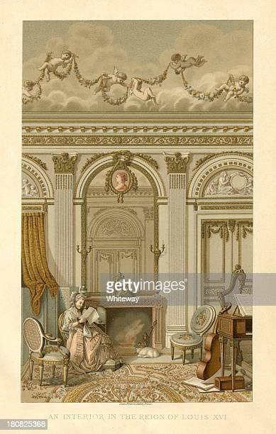 France An Interior in the Reign of Louis XVI