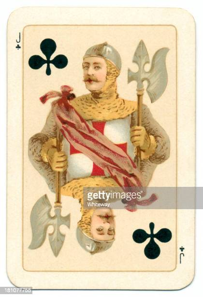 Plantagenet Jack of Clubs playing card Goodall 1895