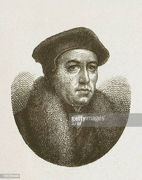 Thomas Cranmer (1489-1556), leader of the English Reformation, published 1877