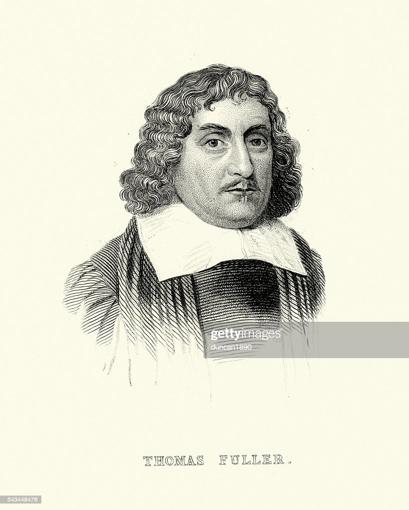 Thomas Fuller High-Res Vector Graphic - Getty Images