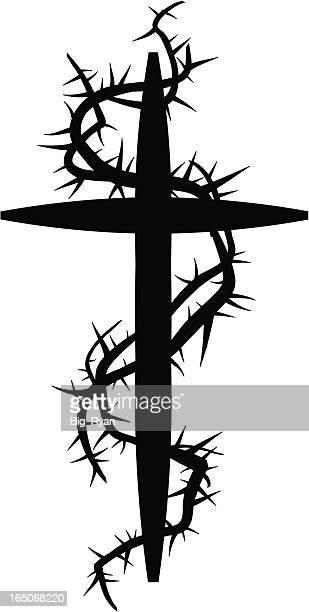 thorned cross