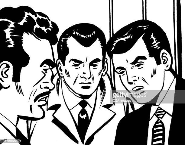 Three Angry Men Arguing