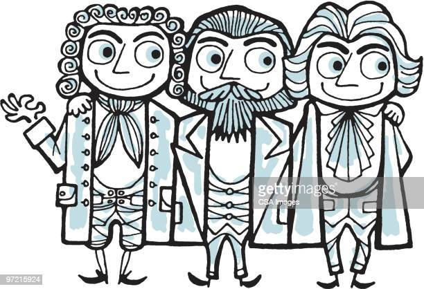 three musketeers - historical document stock illustrations, clip art, cartoons, & icons