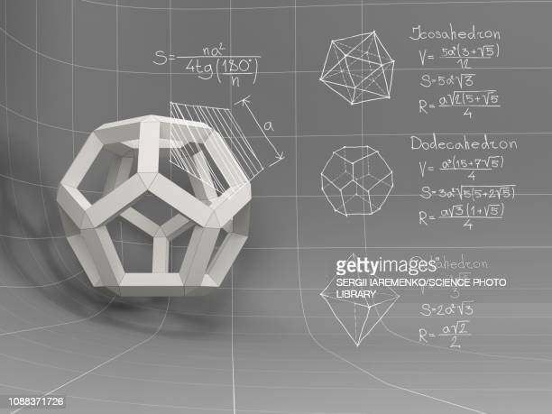 three-dimensional geometry, illustration - built structure stock illustrations