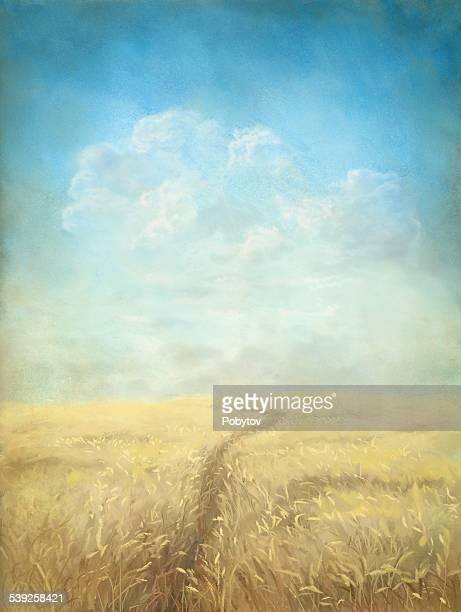 Through The Grain Field
