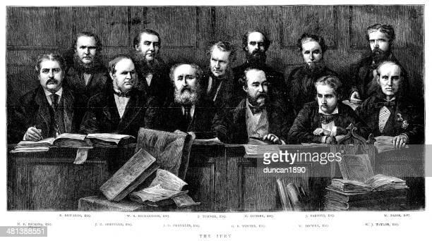 Tichborne Case - The Jury