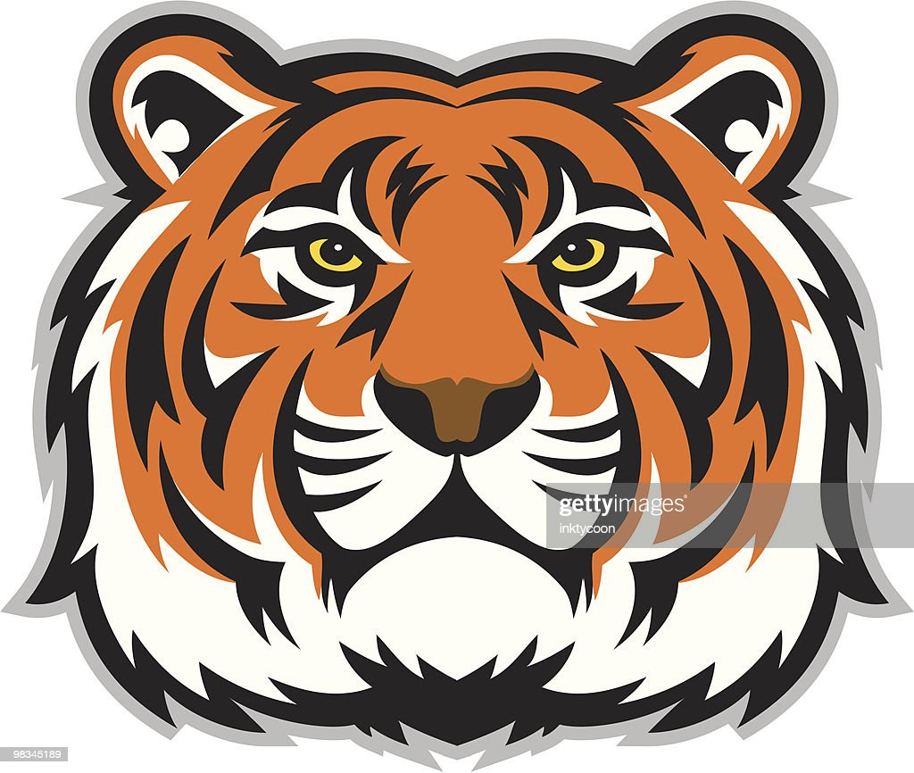 tiger stock illustrations and cartoons getty images rh gettyimages com cartoon tiger face roaring cartoon tiger face drawing