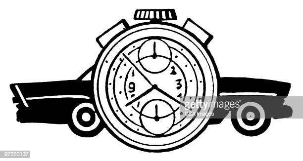 time - time stock illustrations