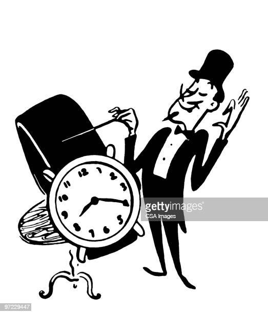 time - minute hand stock illustrations