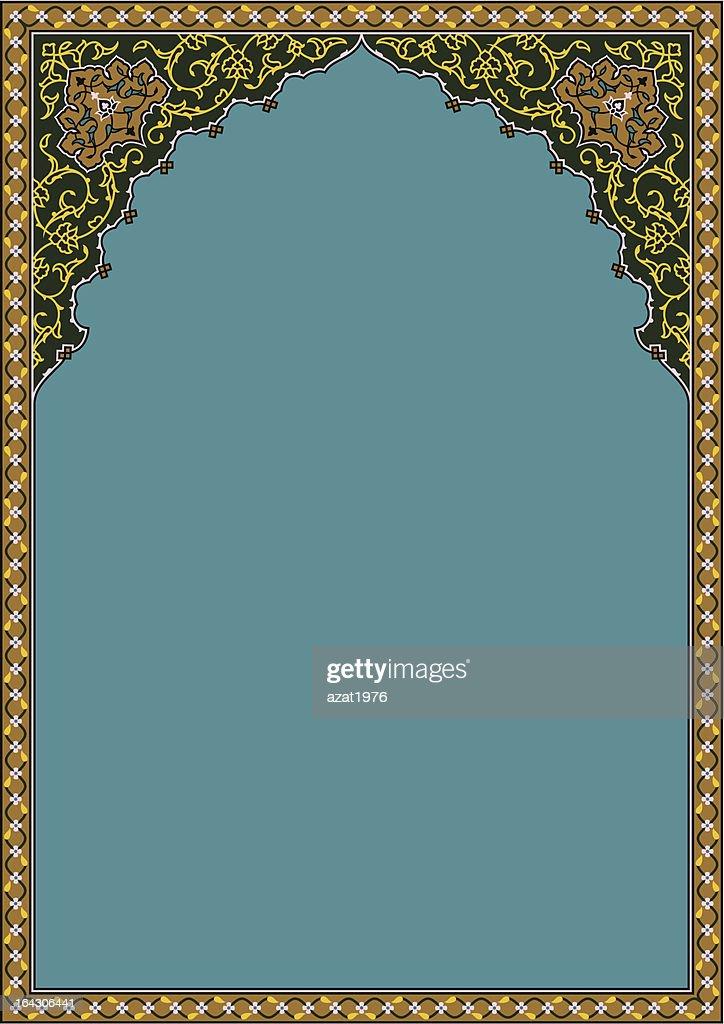 Timur Flower Frame