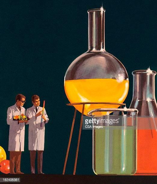 小型で科学研究所